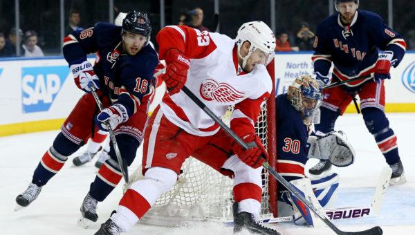New York Rangers vs Detroit Red Wings